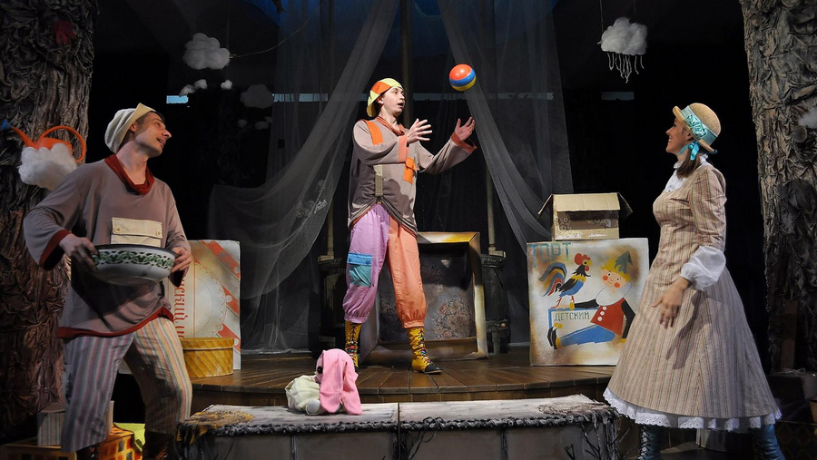 Афиша воронежского театра кукол афиша театр буфф на август